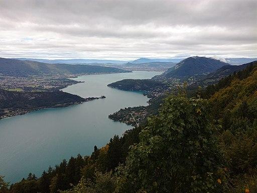 Lac d'Annecy from Col de la Forclaz