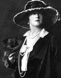 Lucy, Lady Duff-Gordon British fashion designer