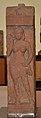Lady Standing Under Balcony - Kushan Period - Jaisingh Pura - ACCN 00-J-10 - Government Museum - Mathura 2013-02-23 5763.JPG