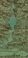 Lake Piru geographic map.png