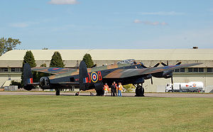 Battle of Britain Memorial Flight Lancaster PA...