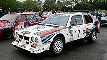 Lancia Delta S4 front