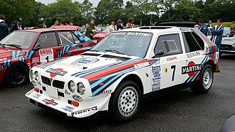 Miki Biasion - Biasion's Lancia Delta S4.