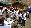 Landesturnfest 2014 in Freiburg im Breisgau, Festumzug auf dem Münsterplatz 2.jpg