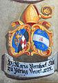 Landhaus Klagenfurt Kleiner Wappensaal Abt Bernhard zu Viktring 1778 25052011 885.jpg