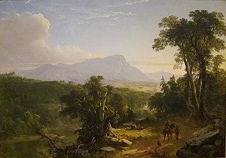 Landscape-Composition: In the Catskills