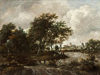 Landscape with Anglers and a Distant Town