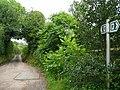 Lane and footpath to Bigglestone. - geograph.org.uk - 937029.jpg