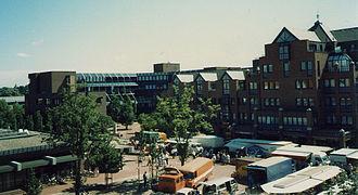 Langenhagen - Town hall in 1989