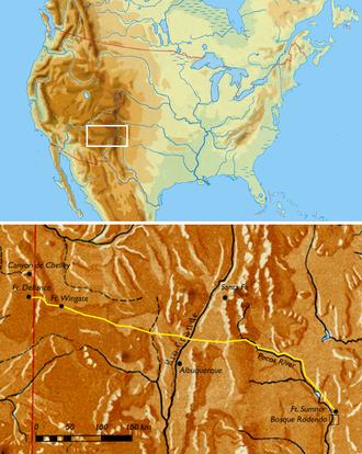Long Walk of the Navajo - The Long Walk