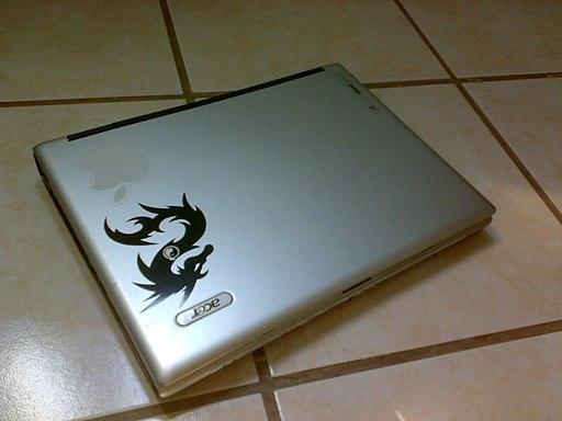 Laptop cerrada