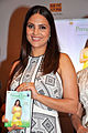 Lara Dutta launches her 'Prenatal Yoga' DVD (8).jpg
