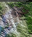 Larch forest fire started by a dry grass wildfire caused by arson near Srednekolymsk, Sakha Republic, Russia, July 1st, 2020 (50068514041).jpg