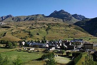 Larche, Alpes-de-Haute-Provence - A general view of the village of Larche