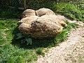 Large boulder Callan's Lane Wood car park - geograph.org.uk - 410856.jpg
