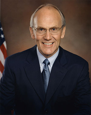 United States Senate election in Idaho, 1996 - Image: Larry Craig official portrait