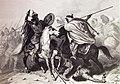 """Las Glorias Nacionales, 1852 """"Fatal batalla del Guadalete"""". (4013185227).jpg"""