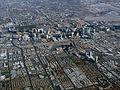 Las Vegas strip from the air (3191356127).jpg