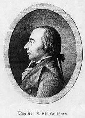 Friedrich Christian Laukhard - Friedrich Christian Laukhard