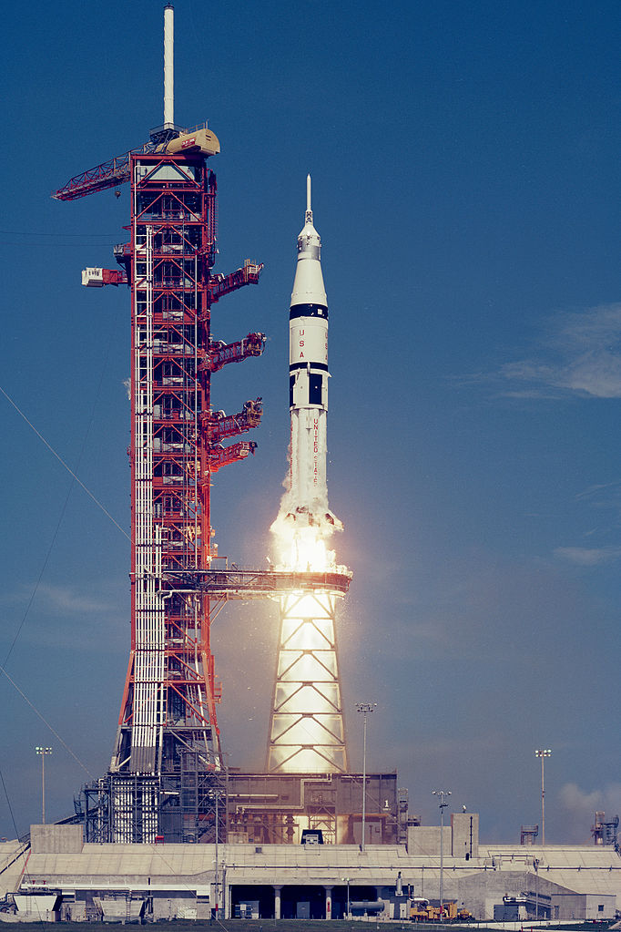 Saturn Rocket Launch Apollo 16 - Pics about space