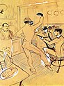 Lautrec chocolat dancing in the 'irish american bar' 1896.jpg