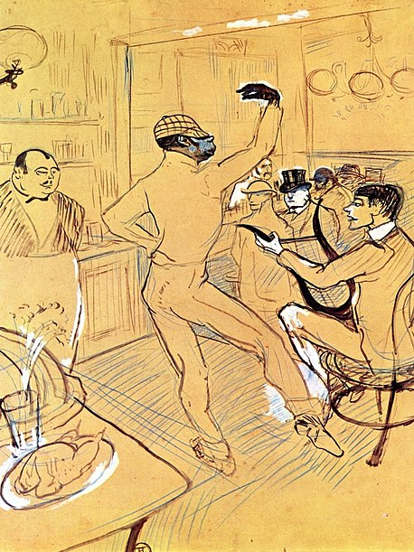 458px-Lautrec_chocolat_dancing_in_the_%27irish_american_bar%27_1896.jpg