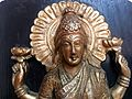 Laxmi Images - An image of Goddess Lakshmi holding a Lotus in each of her hands.jpg