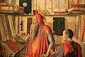 Lazzaro bastiani, san girolamo nello studio col committente saladino ferro, medico, 1475-80 ca. (monopoli, museo diocesano) 03.jpg
