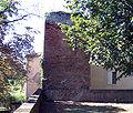 Le Mas-d'Agenais, porte du château, épaisseur.JPG