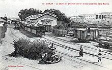 Una foto di Dakar nel 1910