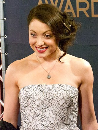 Leah Gibson - Gibson at the 2012 32nd Genie Awards