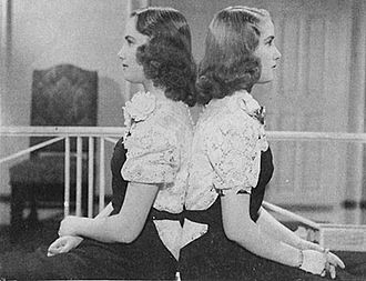 Silvia Legrand - Legrand sisters in the early 1940s