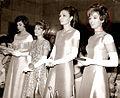 Leila Amirarjmand with Farah Pahlavi-Official Party.jpg