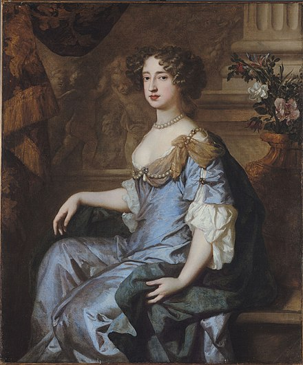 William married his first cousin, the future Queen Mary II, in 1677. Lely Queen Mary II.jpg