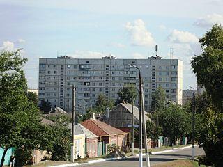 Vovchansk Place in Kharkiv, Ukraine