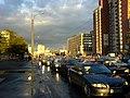 Leninskiy prospekt, evening after a thunder-storm. Ленинский проспект, вечер после грозы. - panoramio.jpg