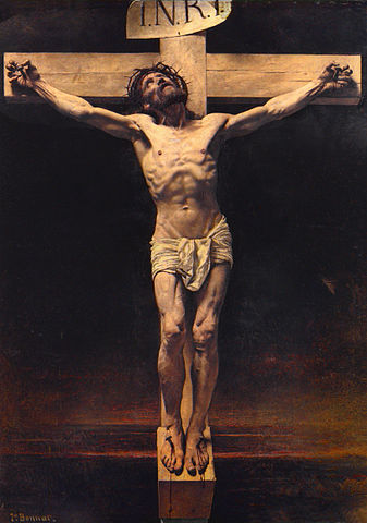 File Leon Bonnat The Crucifixion Jpg Wikimedia Commons