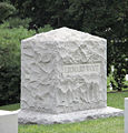 Leonard Wood headstone - Arlington National Cemetery - 2011.JPG