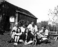 Leopold family at the the Shack (5441675385).jpg
