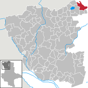 Location of Leppin within Altmarkkreis Salzwedel