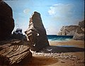 Les Petites mouettes, rivage de Belle-Isle en mer.JPG