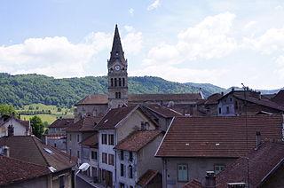 Saint-Geoire-en-Valdaine Commune in Auvergne-Rhône-Alpes, France