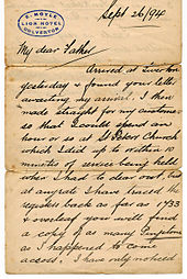 Worksheets English Cursive Writing Letter cursive wikipedia in english letter from 1894