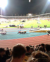 Last athletics event (August 2006)