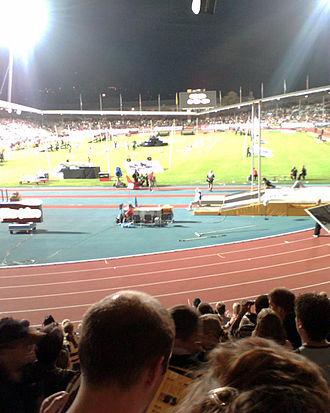 Letzigrund - Last athletics event (August 2006)