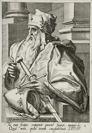 Levi - Levi, from the Twelve sons of Jacob, Holland c. 1590