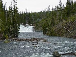 Lewis River (Wyoming) - Image: Lewis Falls