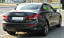 Lexus IS 250C rear 20100710.jpg