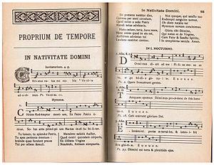 Antiphon - Image: Liber Responsorialis 1895 p 054