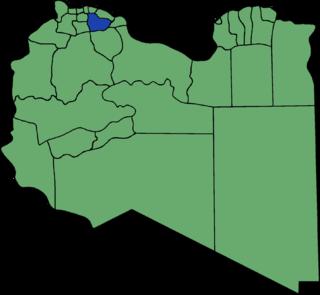Tarhuna wa Msalata District Former district of Libya